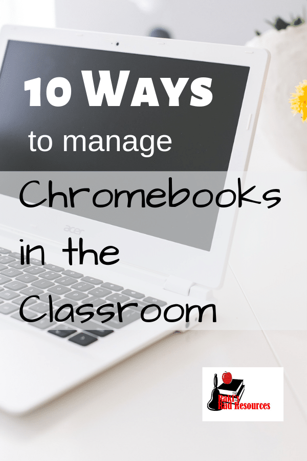 10 Ways to Manage One to One Chromebooks in an Elementary Classroom - Suggestion by Heidi Raki of Raki's Rad Resources