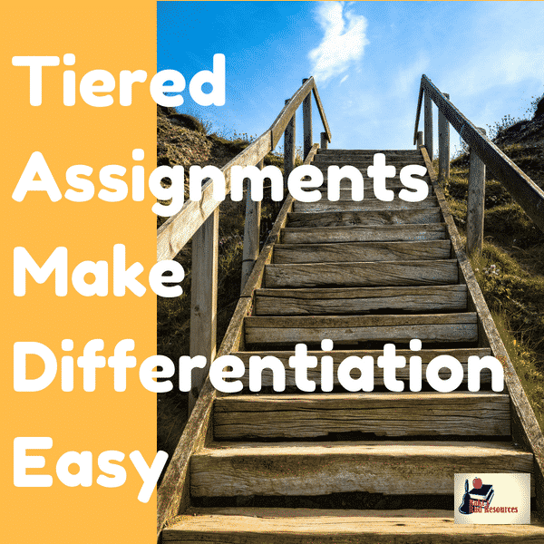 Differentiated instructional strategies - tiered assignments