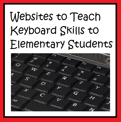 Teaching Typing from the Start of the School Year - These four websites can be used for students to learn how to type well. Typing is such an important skill for students with computerized test like the PARCC. These free websites are suggested by Raki's Rad Resources.