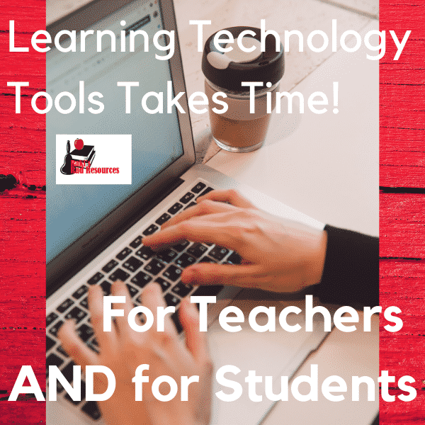 Learning new technology tools takes time for teachers and for students, but taking that time is important. Teachers should use the 2020/2021 summer to practice with technology tools.