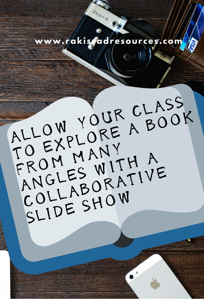 Creating collaborative slide shows in the classroom - explore story elements