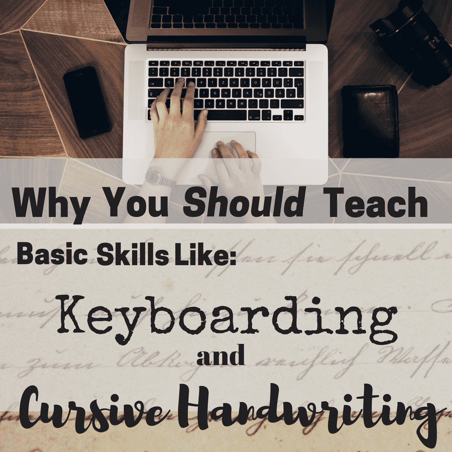 Teachers need to teach touch typing in order for students to be successful with edtech, just like we need to teach handwriting in order for students to be successful in creative writing.